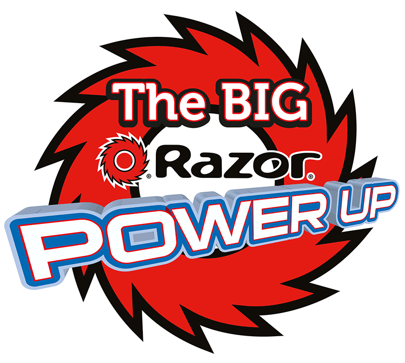 The BIG Razor Power Up — Win Prizes!